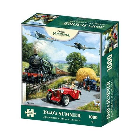 1940's Summer Jigsaw Puzzle ( 1000 Pieces )