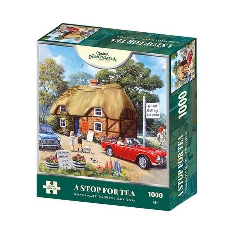 A Stop for Tea Jigsaw Puzzle ( 1000 Pieces )