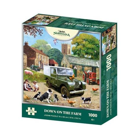 Down on the Farm Jigsaw Puzzle ( 1000 Pieces )