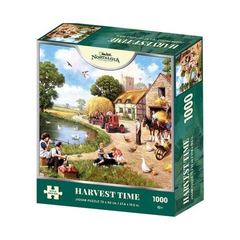 Harvest Time Jigsaw Puzzle ( 1000 Pieces )