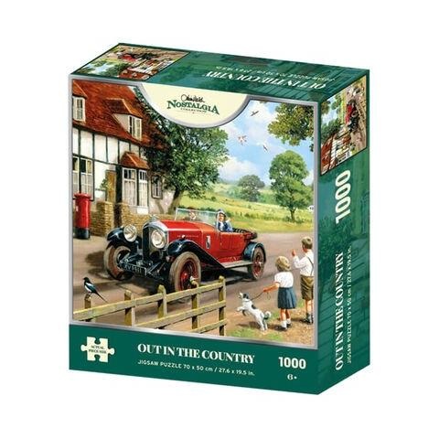 Out in the Country Jigsaw Puzzle ( 1000 Pieces )