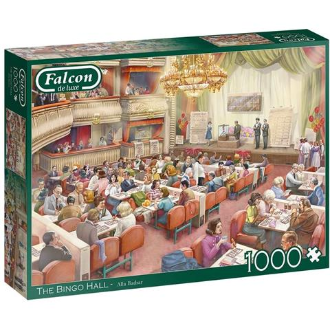 The Bingo Hall Jigsaw Puzzle ( 1000 Pieces )