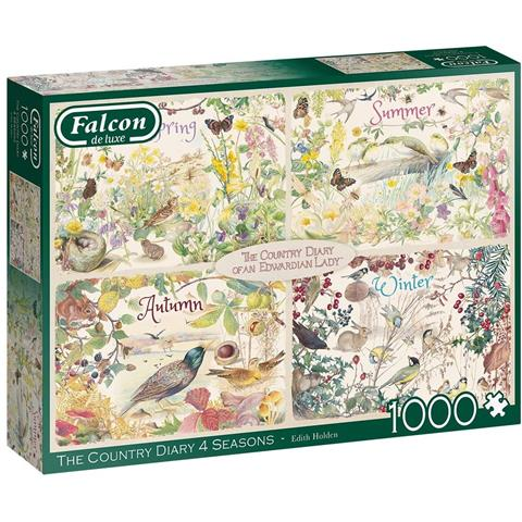 The Country Diary of an Edwardian Lady  - Four Seasons Jigsaw Puzzle ( 1000 Pieces )