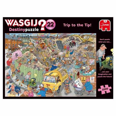 Wasgij Destiny 22 - A Trip to the Tip Jigsaw Puzzle ( 1000 Pieces )